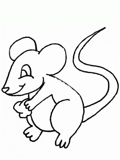 free printable free printable mouse coloring pages for