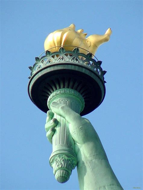 Statue Of Liberty Torch L statue of liberty a symbol of freedom gets ready