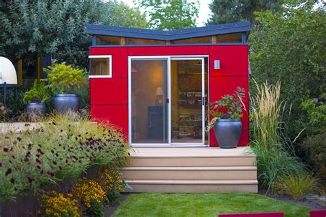 Modern Shed Seattle by Modern Shed Founder And His Design A Beautiful