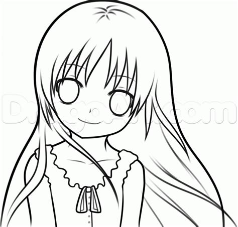 gallery easy drawings of houses drawings art gallery anime easy to draw photos anime girl easy to draw