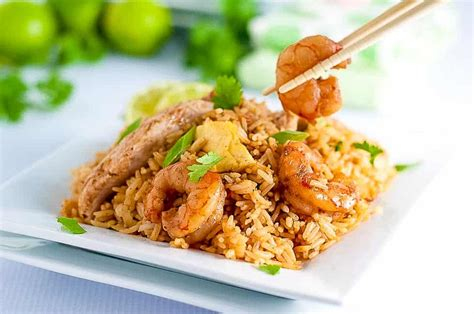 quick indonesian fried rice nasi goreng flavour  savour