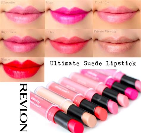Revlon Colorstay Ultimate Suede Lipstick revlon colorstay ultimate suede lipstick swatches marlin