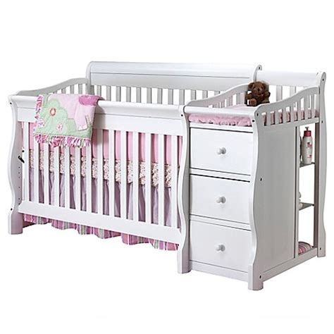 Sorelle Tuscany 4 In 1 Convertible Crib And Changer In Baby Beds With Changing Table