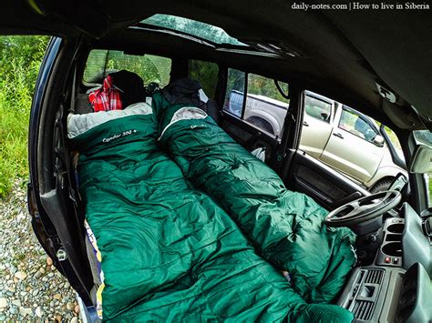 Comfortable Ways To Sleep In A Car by Khakassia Trip Across Siberia Daily Notes