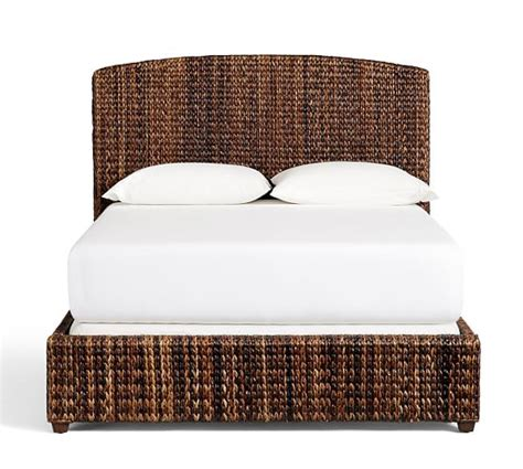 seagrass bed seagrass bed headboard pottery barn