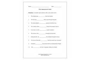 verbs pre test and post test speech therapy ideas