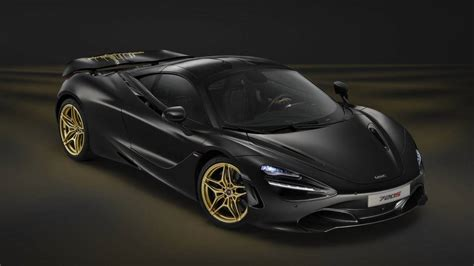 mclaren dubai mclaren 720s black and gold one debuts at dubai motor show