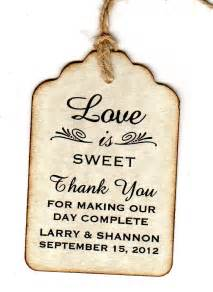 Tag Wedding Favors by 100 Wedding Favor Gift Tags Place Card Tags Thank You