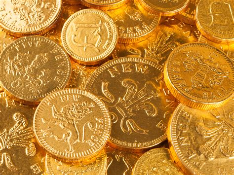 wallpaper gold coins five fence gold coins hd wallpaper wallpaper flare