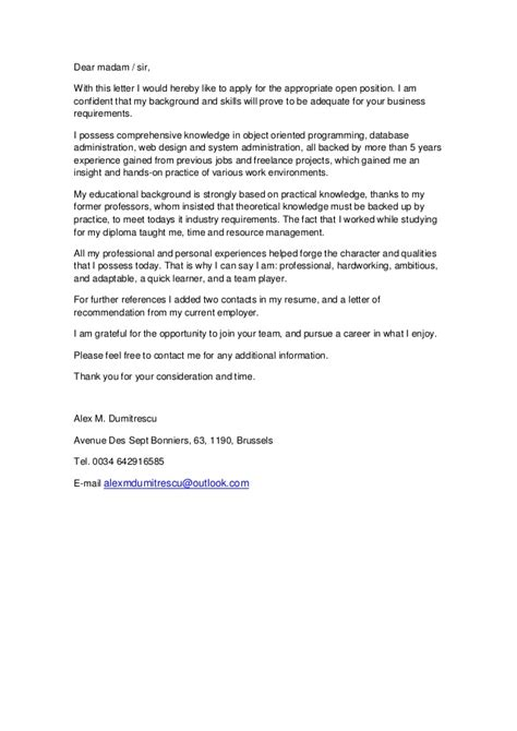 Cover Letter Erasmus Mundus by Cover Letter For Erasmus Mundus Scholarship 28 Images