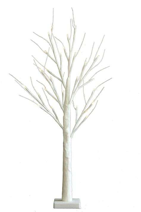 2ft christmas table top warm white twig tree pre lit 36