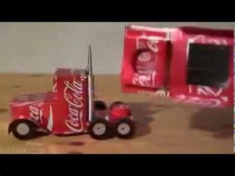 cara membuat mainan dari barang bekas youtube mobil mainan dari kaleng bekas minuman youtube