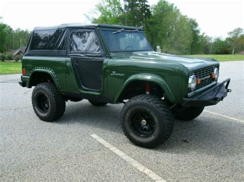 bronco prototype purchase used 1977 ford bronco custom panoz prototype in