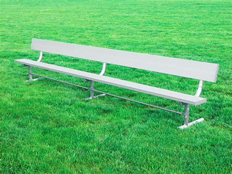 sports benches aluminum sports bench aluminum benches