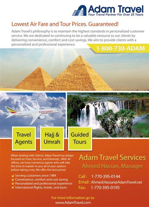 New Home Design Trends adam travel flyer design