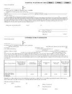 Partial Lien Waiver Template by Bill Of Sale Form Missouri Waiver Of Mechanics Lien By
