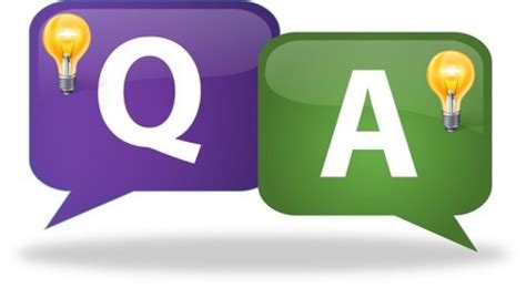 enlightening question and answer session tips