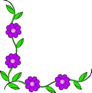 small flower borders clipart clipart suggest