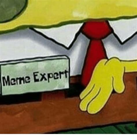 Expert Meme - meme expert meme on sizzle