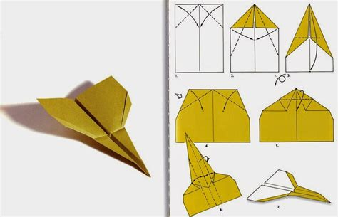 Simple Paper Airplanes - origami airplanes origami flower easy