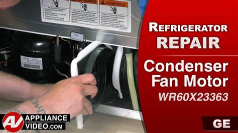 ge refrigerator evaporator fan motor replacement ge gfe28hmkes refrigerator not cold enough condenser