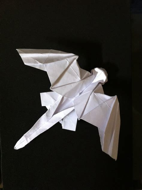 toothless origami by sssthehedgehog on deviantart