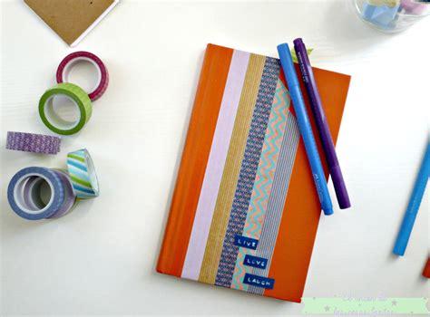 como decorar uñas para quinceañeras decora una libreta con washitape el rinc 243 n de las cosas