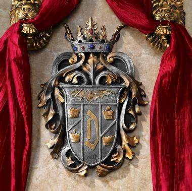 Coat Of Arms Decorations by Count Dracula Coat Of Arms Wall Decor Home Decorating