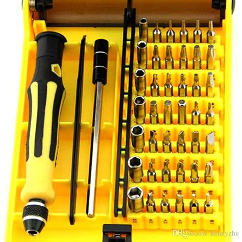 47 In 1 Precission Srewdriver Repair Tool Kit Jakemy Jm 8146 45 in 1 precision screwdriver set mobile phone removing manual repair tool kit for cellphone