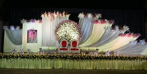 Flower Wedding Decoration by Reception Decorations Engagement Decorators Sangeet