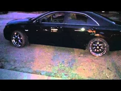 09 camry with 20inch rims youtube