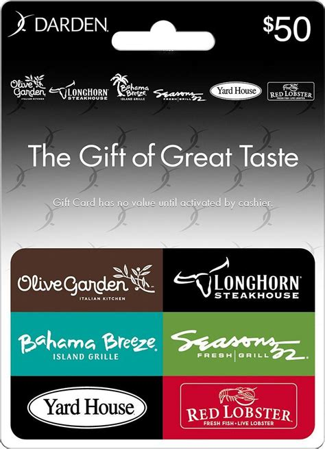 Darden Restaurant Gift Card - 17 best ideas about restaurant gift cards on pinterest chili s travel gift basket