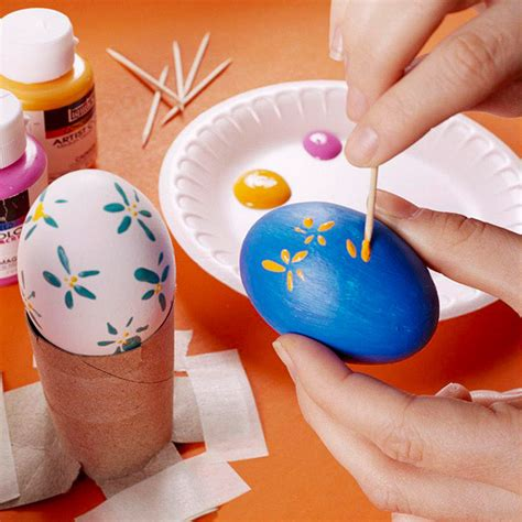 hinterland a up of easter egg decorating
