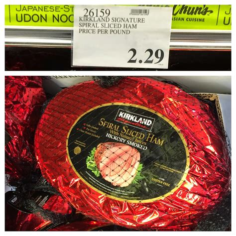 Honeybaked Ham Gift Cards Costco - the costco connoisseur celebrate easter with costco