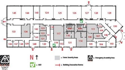 police academy building map (pa)