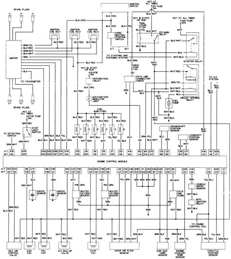 toyota t100 4 cylinder engine diagram toyota free engine