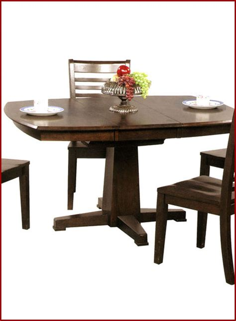 winners only pedestal dining table santa fe wo ds4257