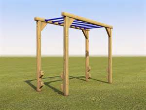 Backyard Play Equipment Monkey Bars Outdoor Places