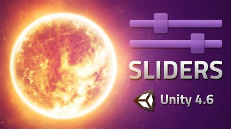 unity tutorial brackeys slider events change things with sliders unity 4 6