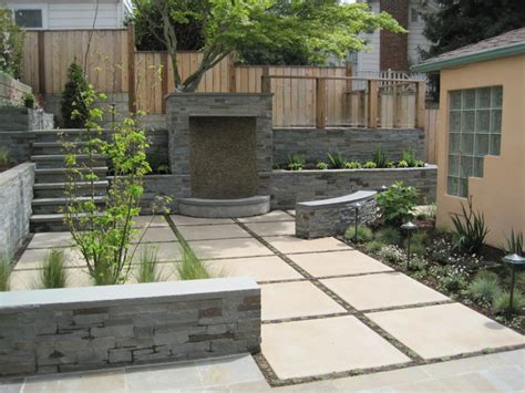 Modern patio design, stamped concrete patio designs modern