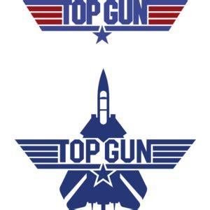 top gun logo, vector logo of top gun brand free download
