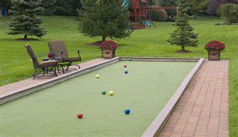 backyard bocce bocce ball court ideas for my backyard bocce ball court