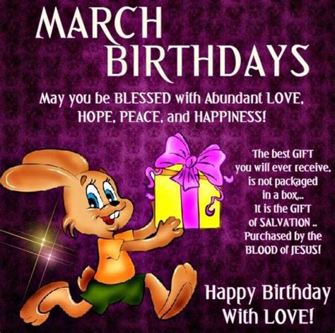 March Birthday Memes - 22 nice march birthday wishes quotes images messages