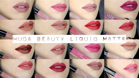 Lipstik Ofra huda liquid matte lipstick collection swa