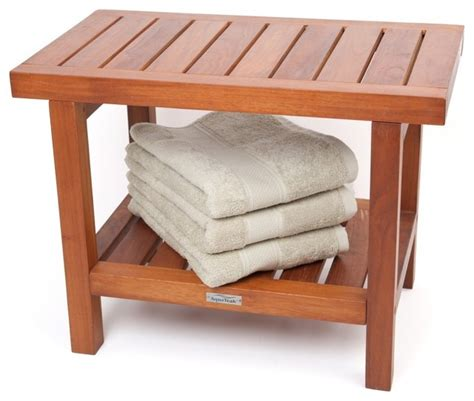 wooden shower bench seats spa collection teak shower bench contemporary shower