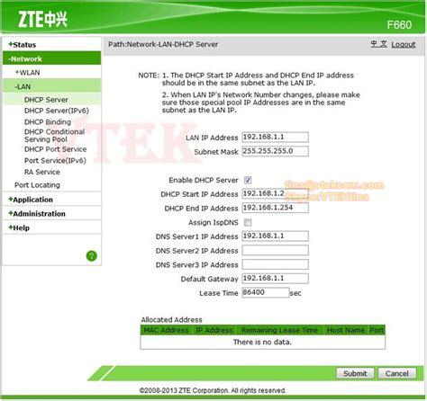 Router Zte F660 modem zte f660 images