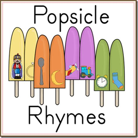 free popsicle rhymes printable free homeschool deals