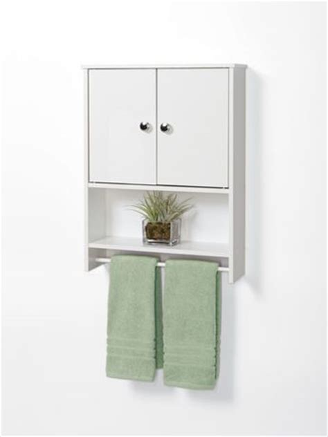 Mainstays Bathroom Wall Cabinet by Mainstays White Wood 2 Door Wall Cabinet Walmart Ca