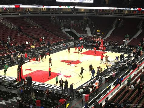 section 8 in chicago suburbs united center section 207 chicago bulls rateyourseats com