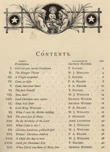 Table of contents of the 1871 edition ccel
